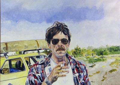 """Wild Canadian""  Acrylic on canvas – 48"" W x 36"" H  – $3,000.00"