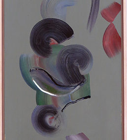 "Peter Arakawa ""Radio"" acrylic on canvas"