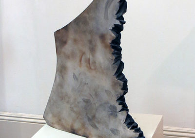 """Silent Sphinx""   ceramic by Ellen Rebarber"
