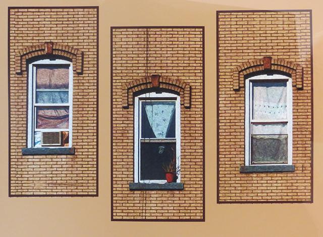 """Bill Bonner """"3 Windows"""" enhanced digital photograph"""