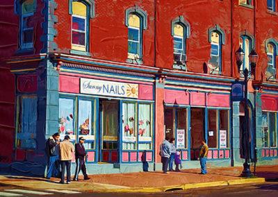 "Bill Bonner ""Sunny Nails"" enhanced digital photograph"