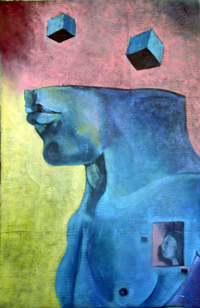 A Momentary Lapse of  Reason – Oil on canvas – $1,000.00