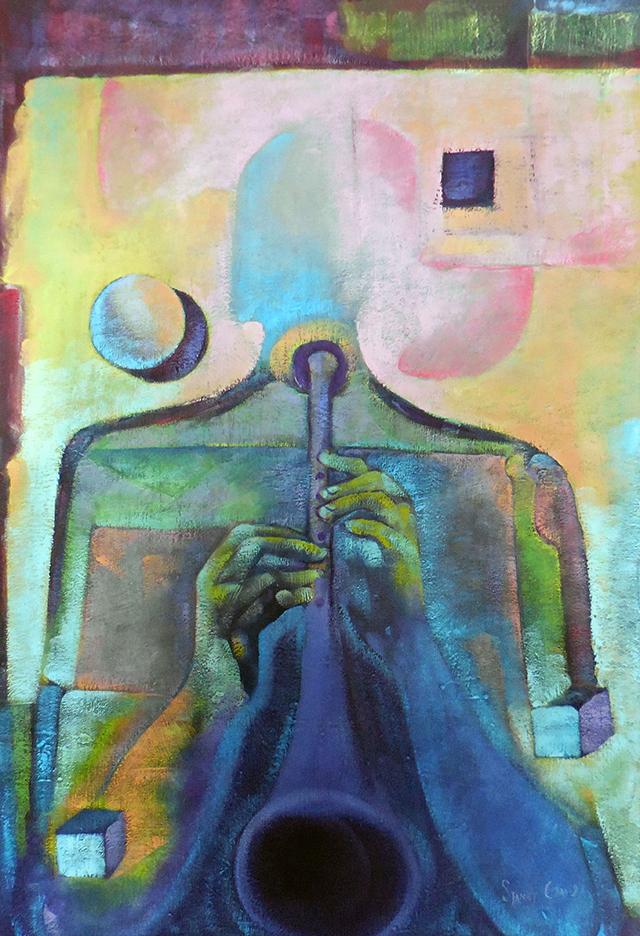 The Magic Flute – oil on canvas – $1,000.00