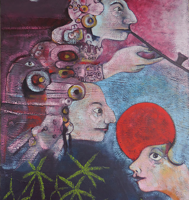 The Pipe of Peace – oil on canvas – $1,000.00