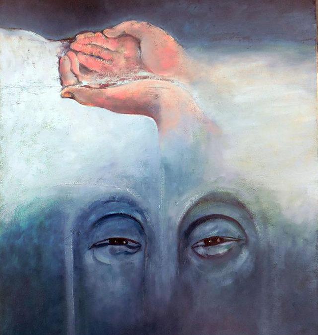 Oasis – oil on canvas – $1,000.00