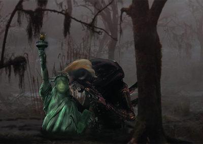 "Brian McCormack  ""Liberty in Peril"" digitally enhanced photo"