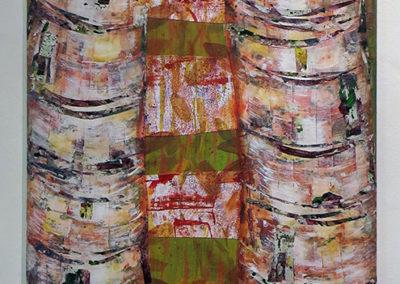 "Joyce Chen -""Tree Collage I"""