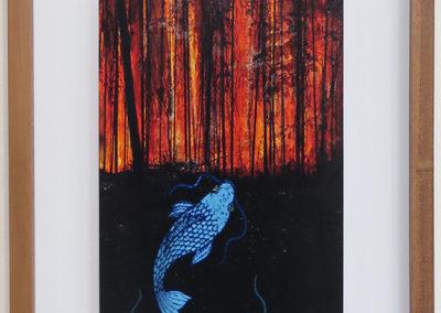 "Larry McCandlish – ""Denier's Remorse BurningForest/Rising Seas"""