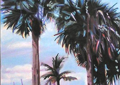 """Maria Mijares """"Under Protection (Pom Palms)"""""""