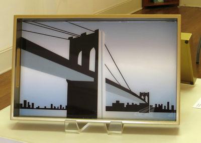 """J.R. Sanders """"Brooklyn Bridge Blue"""""""