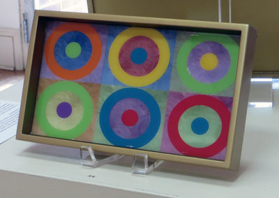 "J.R. Sanders ""Color Circles"""