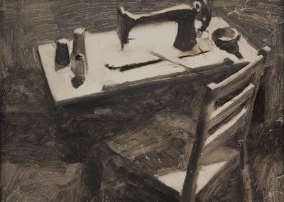 """Nicolas Potoskie """"Morning Light"""" oil on panel"""