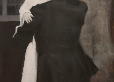 "Colleen Hammond ""Premonition"" oil on canvas"