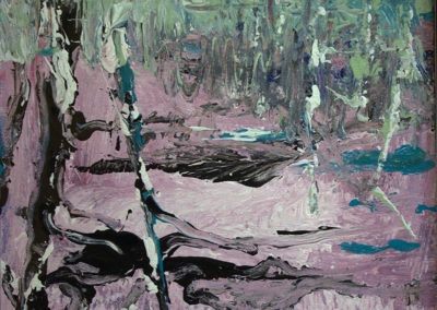 """Rita Herzfeld   """"Frost – 2""""  acrylic on canvas board"""