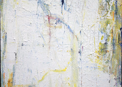 "Rita Herzfeld ""Frost – 1"" acrylic on canvas"