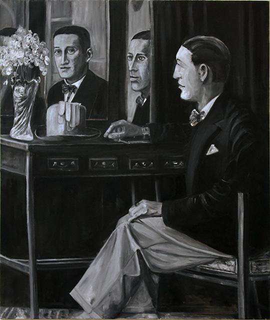 "Michele Guttenberg ""Reflections""  oil on canvas"