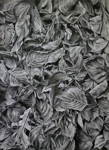 "Neil Besignano ""Somewhere in Snug Harbor""  oil on canvas"