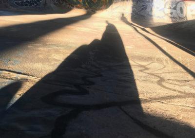 """""""FDR Skate Park, morning"""" by Emilio Jose Maldonado"""