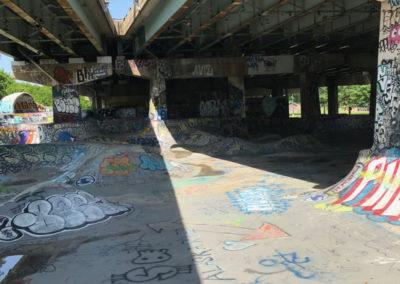 """FDR Skate Park, Noon"" by Emilio Jose Maldonado"