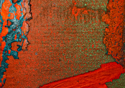 """Paper Play Sanctuary III"", flax handmade paper by PAT FEENEY MURRELL"