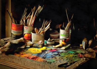 """Palette"" by Bill Bonner"