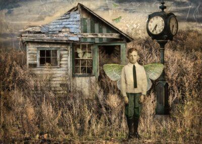 "Darlene Foster ""Metamorphosis"" photography/montage, $450.00"